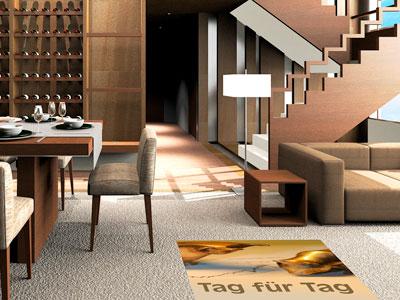 Fußbodenfolien, Fußbodenwerbung