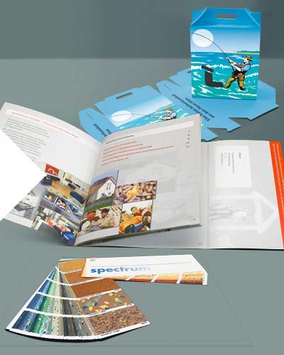 In Ihrer Druckerei in Mannheim ergänzen sich Offsetdruck und Digitaldruck auf ideale Weise.