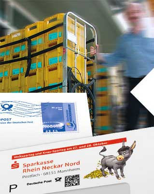 Intelligent personalisiert landen Mailings selten im Papierkorb