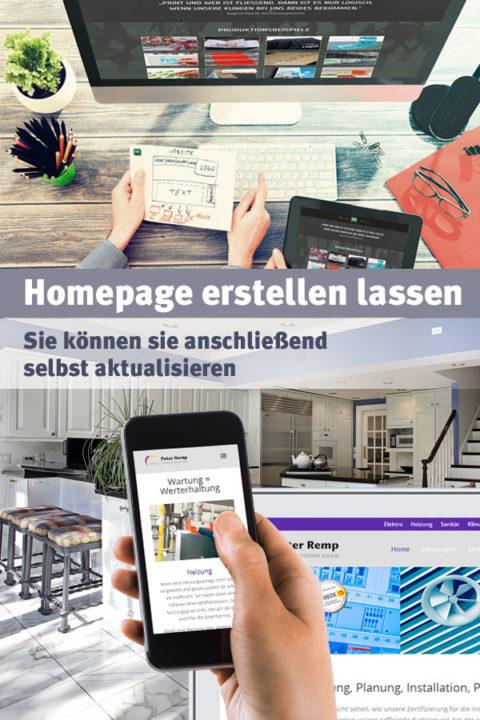 Professionelle Homepage erstellen lassen