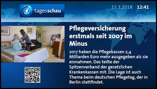 Die Tagesschau-App des NDR darf man kostenlos in seinem Programm einsetzen.