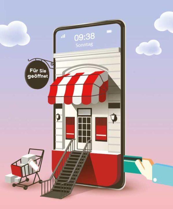 Über NFC in der Kundenkarte können unbegrenz oft neue Ziele definiert werden. Beispielsweise auch zu neuen Produkten im Webshop.